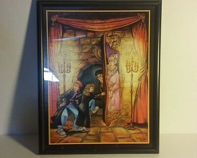 "Harry Potter ""PIG SNOUT"" Lithograph With Certification Of Authenticity Read DTLS"