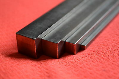 3mm x 3mm x 750mm 316 A4 STAINLESS STEEL SQUARE BAR MODEL MAKERS