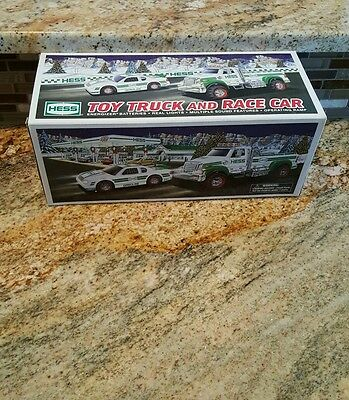 Hess 2011 Toy Truck & Race Car-- New In Box
