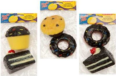 Job Lot Of 48 Packs Pet Toys Squeaky Cakes 2 Pack New FREE POSTAGE