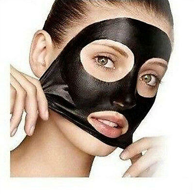 PILATEN Blackhead Remover Deep Cleaning Purifying Peel Black Face Mask #UK#