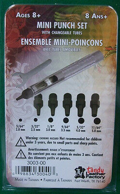 Mini Leather Punch Tool Set By Tandy
