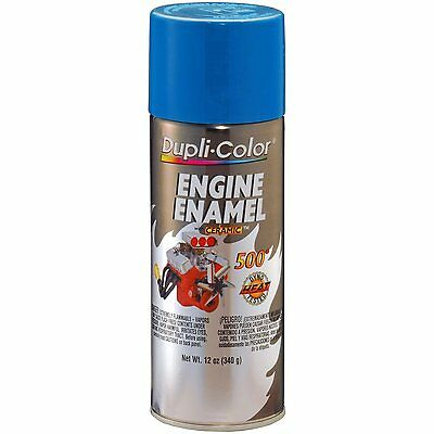 Duplicolor DE1608 GM Corporate Blue Motor Engine Spray Paint Aerosol 12oz.