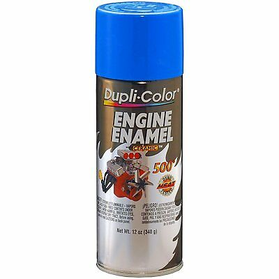 Duplicolor DE1601 Ford Blue Motor Engine Spray Paint Aerosol 12oz.
