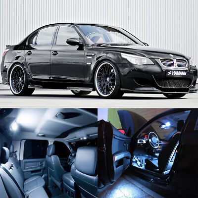21×white Interior LED light bulb kit for BMW 5 series M5 E 60 E 61 (04-10)