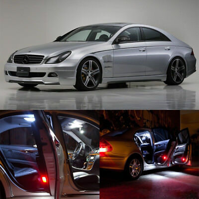 16×white Interior LED Light Kit for Mercedes Benz CLS class W 219 (2006-2010)