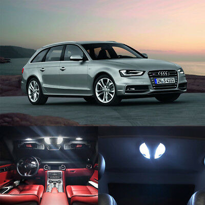 20pcs white canbus Interior lamp LED Light Kit for Audi A4 S4 B8 avant 2009-2015