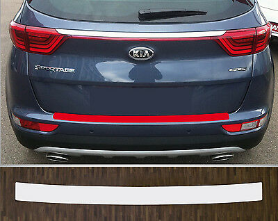 clear protective foil bumper protection transparent Kia Sportage, from 2016