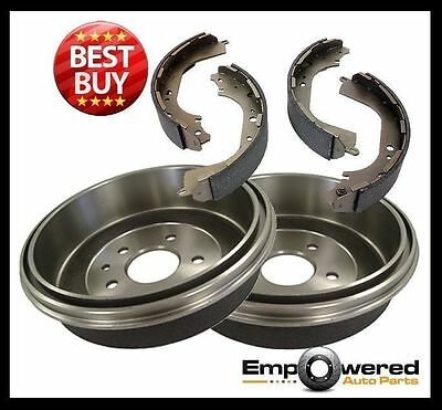 Toyota Hilux 4WD LN106 RN105 YN106 1988-1997 REAR BRAKE DRUMS + SHOES RDA1743