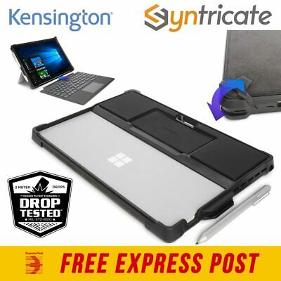 Kensington BlackBelt 2nd Degree Military Rugged Case for Surface Pro 4 - Black