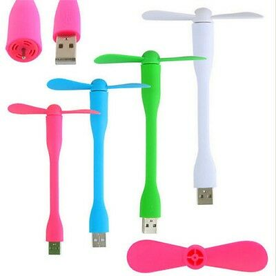 Mini USB Fan Adjustable Portable Detachable Flexible Fan For Outdoor Travel ci