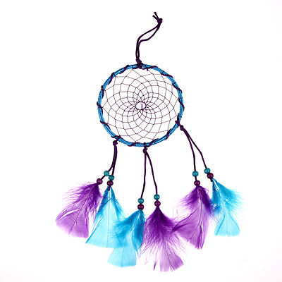 """Dream Catcher With Feathers 13.7"""" Wall Hanging Decoration Ornament Handmade Gift"""