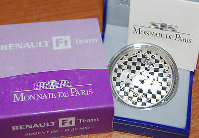 France 2007 Renault F1 Team 1,5 euro Silver Proof - Francia 1 1/2 euro silber