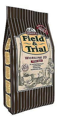 Skinner's Field And Trial Dog Food Working 23 Dry Mix 15kg NEW
