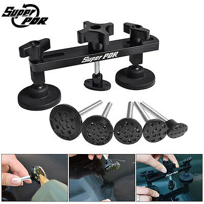 Super PDR Paintless Dent Repair Dent Puller Bridge Tool Body Removal Tooling BLK
