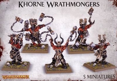 Khorne Wrathmongers Warhammer Age Of Sigmar BNIB Games Workshop