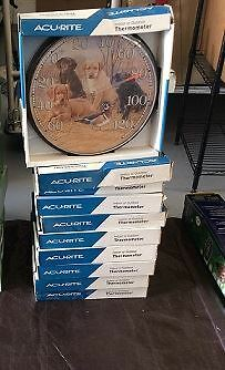 Wholesale Lot of Assorted Acurite Indoor OutDoor Thermometer Approx 18 PCS