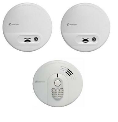 2 x Kidde Firex KF10 Smoke Alarm Mains / Battery Back Up replaces 4870 I240 KF1