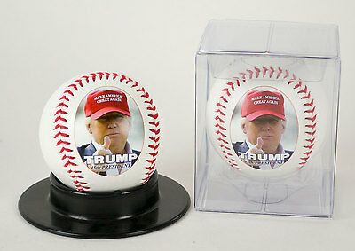 Donald Trump Make America Great Again Photo Baseball