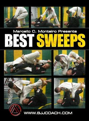 BJJ Best Sweeps - Brazilian Jiu Jitsu DVD