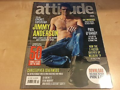 Attitude Magazine - Issue 197 - October 2010 - Jimmy Anderson James Cricket