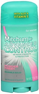 Mitchum Women Advanced Control Deodorant Invisible Solid Powder Fresh 2.70 oz