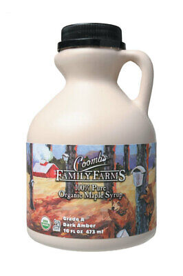 Grade A Organic Maple Syrup 473ml - Coombs Family Farms
