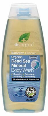 Organic Dead Sea Body Wash 250ml - Dr Organic