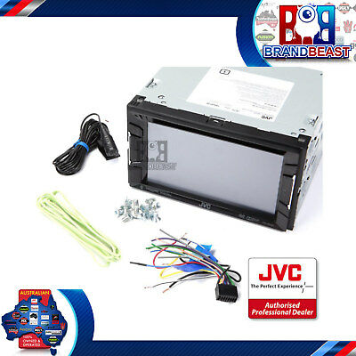 Jvc Kw-V220Bt 6.2 Car Stereo Dvd Bluetooth Usb Iphone Ipod Pandora Android Bt Cd