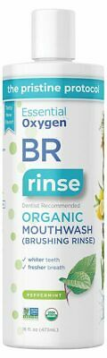 Organic Brushing Rinse 473ml - Essential Oxygen