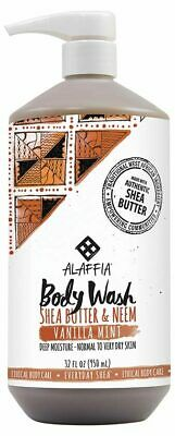 Vanilla Mint Body Wash 950ml - Alaffia