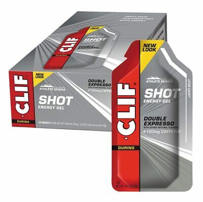 SHOT Energy Gel - Double Expresso (Box 24x34g) - Clif Bar
