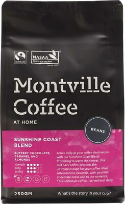 Organic Coffee - Sunshine Coast Blend (Beans) 250g - Montville Coffee