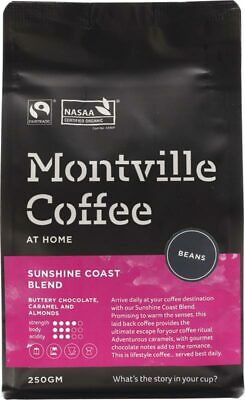 Sunshine Coast Blend Coffee Beans 250g - Montville Coffee