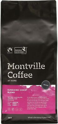 Organic Coffee - Sunshine Coast Blend (Beans) 1kg - Montville Coffee