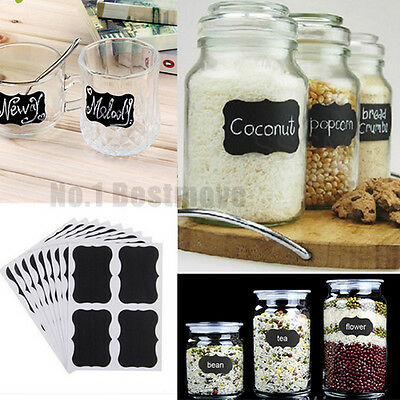 36Pcs Lable Stickers for Home Garden Kitchen