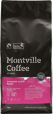 Organic Coffee - Sunshine Coast Blend (Plunger) 1kg - Montville Coffee