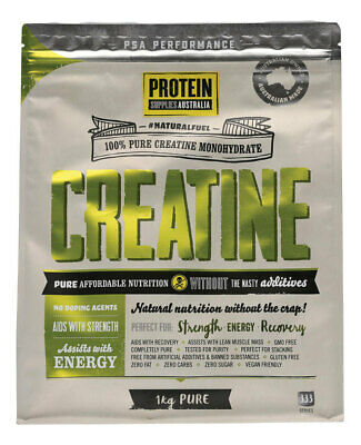 Pure Creatine (Micronised Monohydrate) 1kg - Protein Supplies Australia