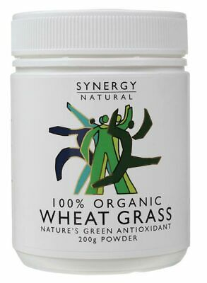 Organic Wheat Grass Powder 200g - Synergy Natural