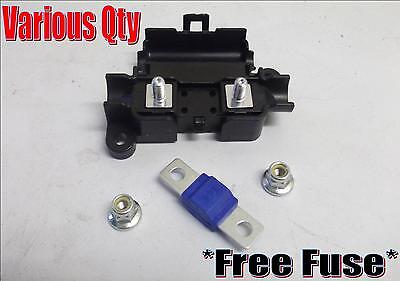 Midi Fuse Holder Plus 100Amp Fuse Car Van Clip Lid Suits High Current