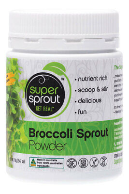 Organic Broccoli Sprout Powder 70g - Super Sprout