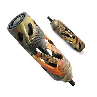 Aluminium Hunting Target Archery Stabilizers 6.7 oz Weight For Compound Bow Camo