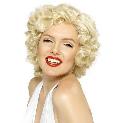 Perruque marilyn monroe courte