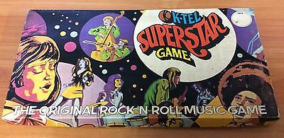 Vintage 1973 Board Game - K-Tel SuperStar Game - 100% complete