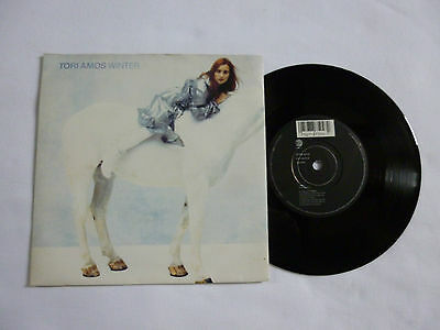 "Tori Amos ~ Winter ~ Vg+/ex ~ A7504 ~ 1992 Uk 1St Press 7"" Vinyl 45Rpm Single"
