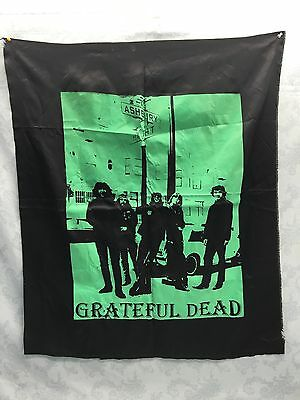 "RARE VINTAGE "" GREATFUL DEAD/ HAIGHT ASHBURY "" Original Banner Flag"