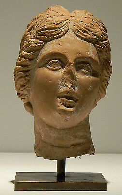 Greek Terracotta Head of Aphrodite - Ancient Art & Antiquities