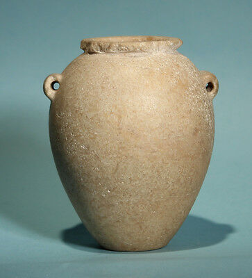Egyptian Pre-Dynastic Limestone Vessel  - Ancient Art & Antiquities