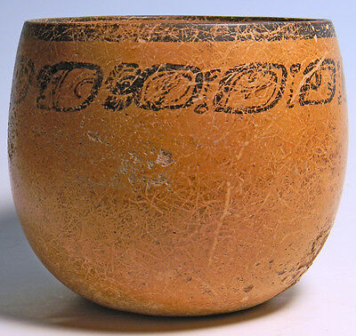 Maya Bowl With Inscription - Ancient Art & Antiquities