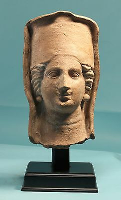Etruscan Terracotta Head of Persephone - Ancient Art & Antiquities